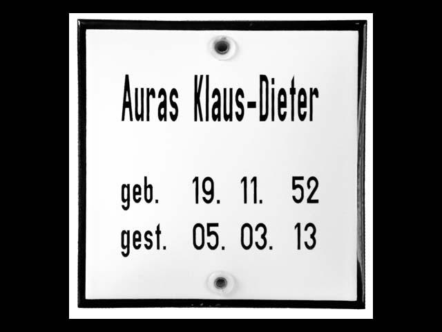 Grabschild-Auras