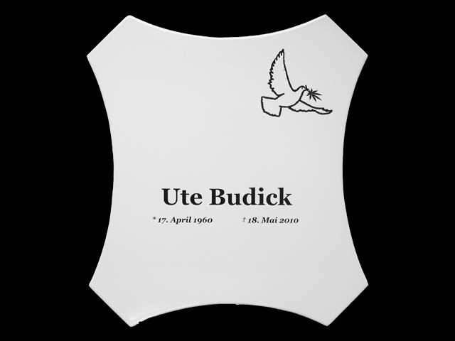 Grabschild-Budick