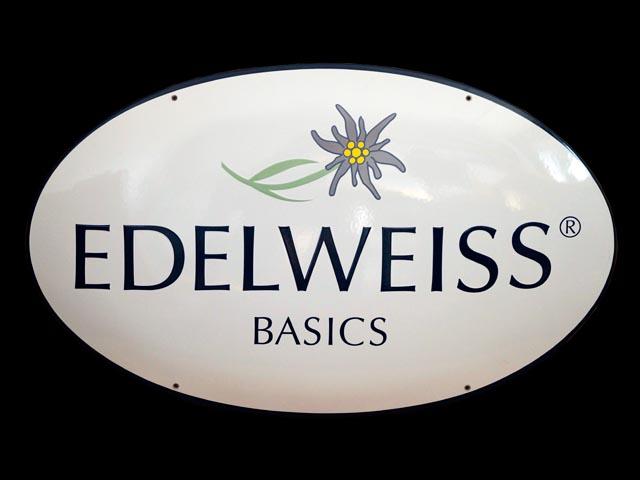 Firmenschild-Edelweiss
