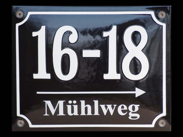 Wegweisend-Muehlweg