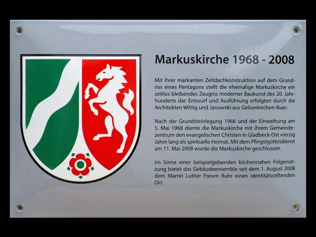 Textschild-Markuskirche