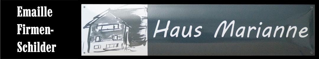 Emaille Firmenschilder