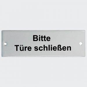 Bitte-Tuere-schliessen-in-Emaille-115x30mm