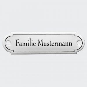 Emaille-Namensschild-80x22mm-klassische-Form