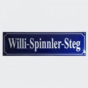Emaille-Straßenschild-70x20cm