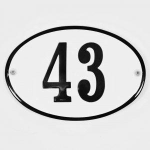 Nostalgische-Hausnummer-in-Emaille