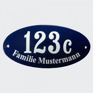 Ovale-Hausnummer-mit-Name-20x10cm