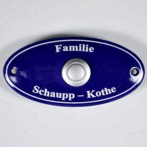 ovales-Klingelschild-Emaille-10x5cm