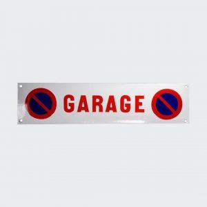 Emaille-Parkverbot-Garage-33x8cm