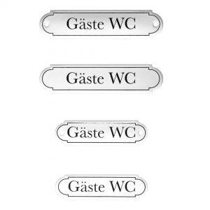 Emaille-Türschild-Gaeste-WC
