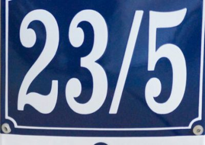 Hausnummer spezial