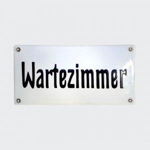 Praxisschild-in-Emaille-Wartezimmer-20x10cm