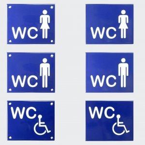 Toilettenschild-Piktogramm-12x10cm