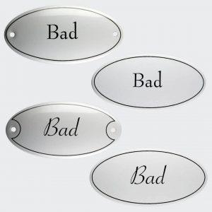 Tuerschild-Emaille-Bad-oval-10x5cm