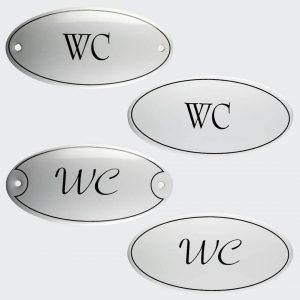 Tuerschild-Emaille-WC-oval-10x5cm