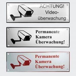 Videoueberwachung-Kameraueberwachung-in-Emaille-22x7cm