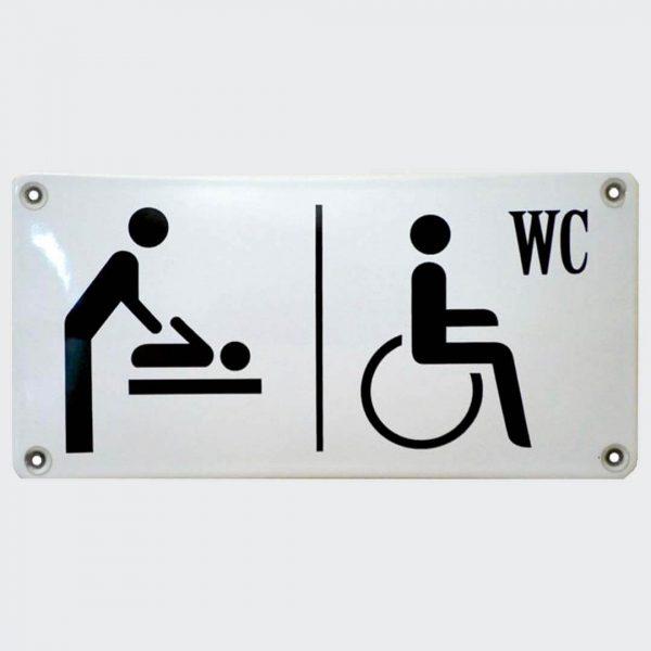 Wickelraum-Behinderten-WC-20x10cm