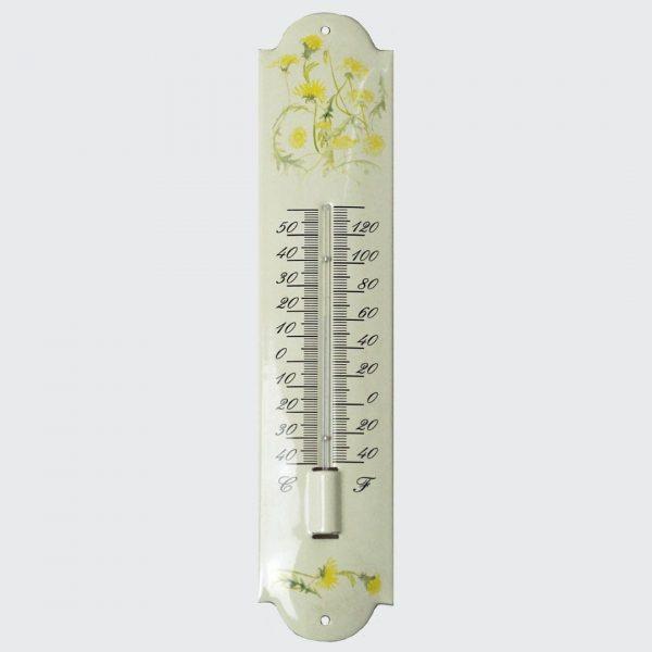 Thermometer mit Blumenmotiv-1