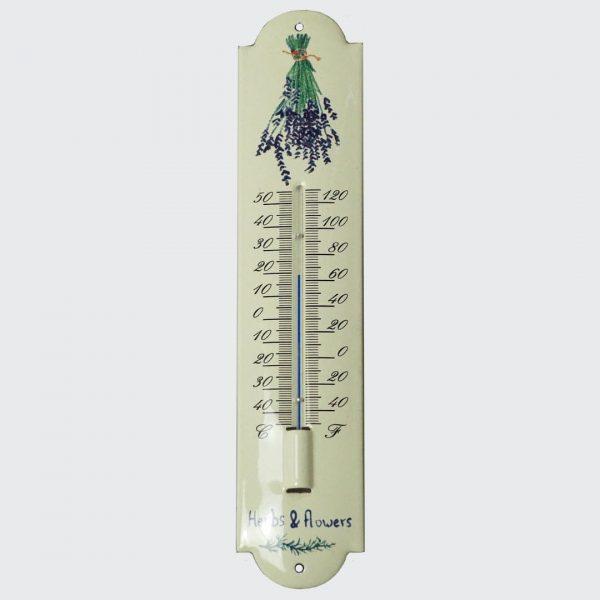 Thermometer mit Blumenmotiv-3