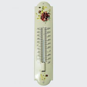 Thermometer mit Blumenmotiv-6